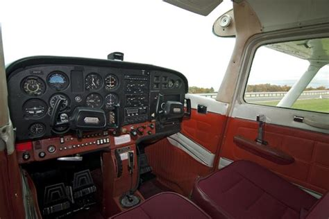 Home Interiors Inc by Interior Of The Cessna 172 Skyhawk At Chester Airport