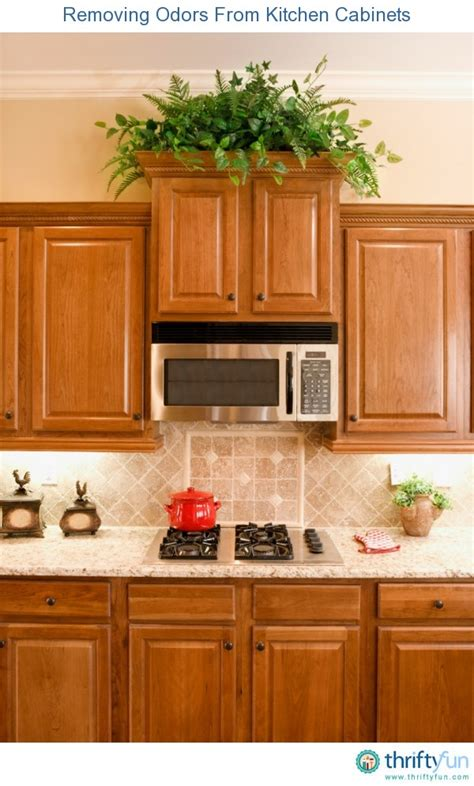 Removing Odors From Kitchen Cabinets Thriftyfun