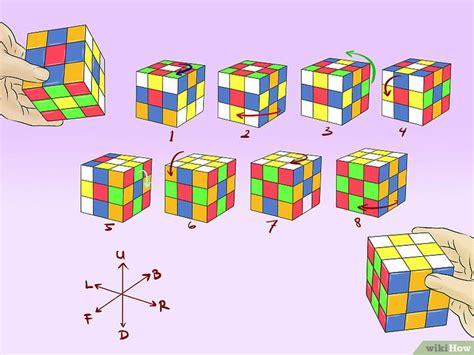 membuat gambar rubik 3d 8 cara untuk membuat pola kubus rubik yang keren wikihow