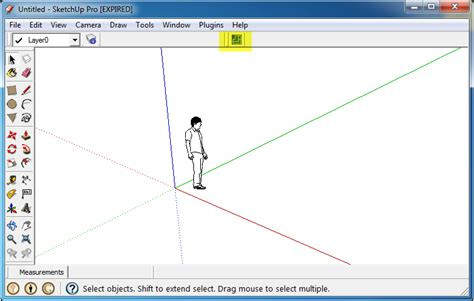 sketchup layout toolbar point cab and google sketchup laserscanning europe