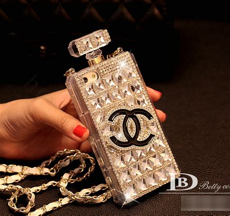 Chanel Parfum Swarovski For Iphone 6 buy wholesale unique swarovski chanel perfume bottle rhinestone cases for iphone 6 white