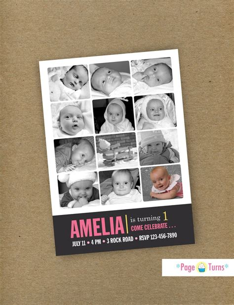 Handmade Photo Collage For Birthday - 17 best images about scrapbook cards on diy