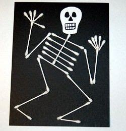 q tip skeleton craft template 25 best ideas about skeleton craft on
