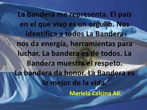 palabras alusivas para el dia de la bandera argentina frases de los chicos
