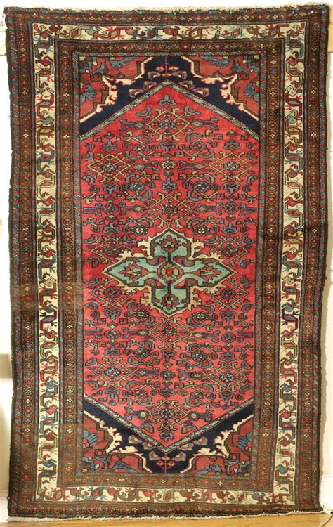 Hamadan Rug Probably Qomb 226 D Village Hamadan Rug