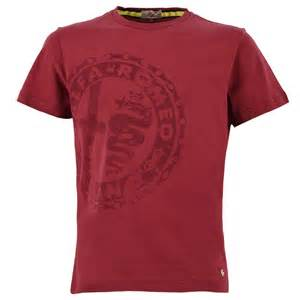 Alfa Romeo Clothing S Heritage S Sleeved T Shirt Clothing