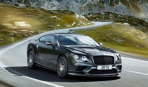 bentley continental supersports 2018 bentley continental supersports confirmed