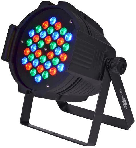 Par 36 L by Technoledgy Pro Par 36 Watt 3x1w Dmx Rgb Led Light Pssl