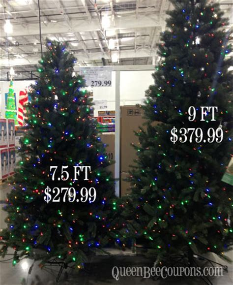 9 ft costco christmas tree costco trees decorations lights 2013