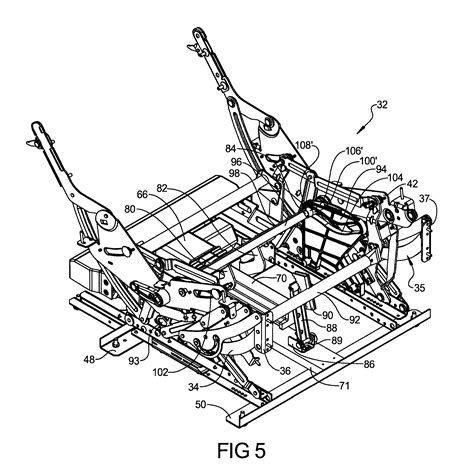 how a recliner works patent us8366188 release system for furniture member leg