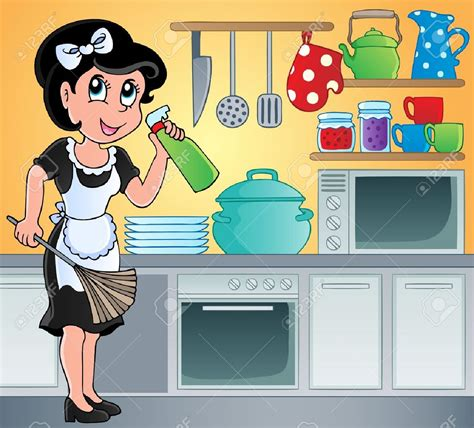 cleaning the kitchen to clean the kitchen clipart www pixshark com images