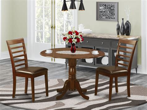 dlml mah lc  pc small kitchen table  chairs set
