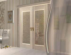 Bedroom Glass Doors Mod The Sims Project Quot Maiden S Bedroom Quot Part 9 Doors Set Magical Stained Glass Maxis