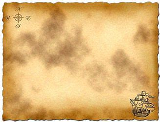 Treasure Map Template For Pirate Party Games Or Pirate Party Invitations Just Add To Photoshop Pirate Powerpoint Template