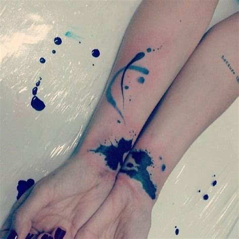 splatter paint tattoos paint splatter tattoos mod