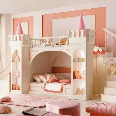 castle bunk beds for girls princess castle bunk beds girls rooms pinterest