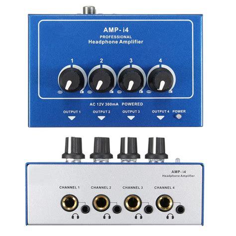 Power Lifier Tasso I4 hi fi systems i4 mini professional portable 4 channel headphone audio stereo lifier
