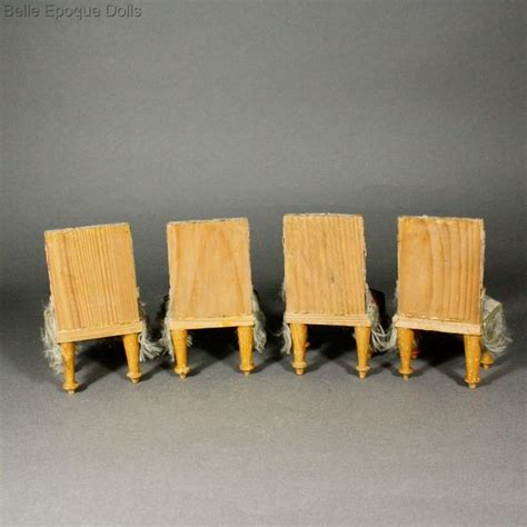 antique dolls house furniture antique dolls house furniture superb waltershausen silk covered dining set with