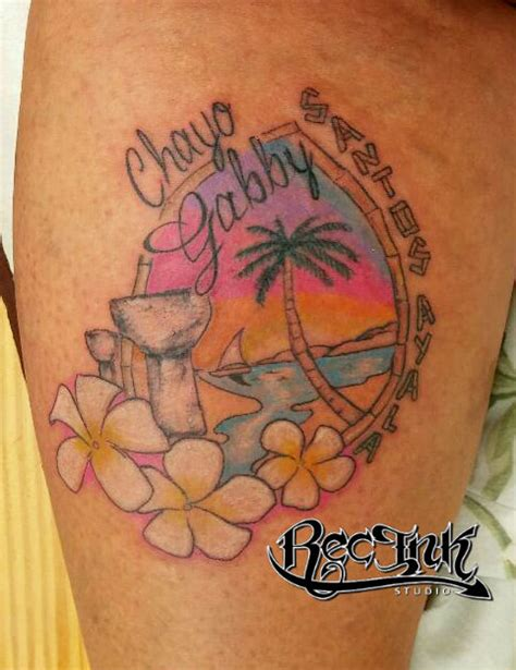 guam tattoos guam by rec latte sun set island by txrec on deviantart