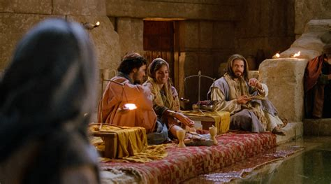 Bible Wedding At Canaan by Jesus At The Wedding Feast
