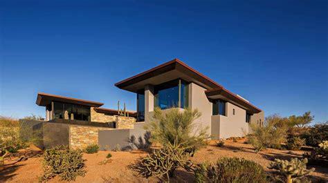 fascinating modern desert home melds   sonoran
