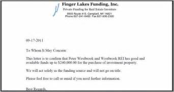 Sample Proof Of Funds Letter Template Best Photos Of Bank Proof Of Funds Letter Proof Of Funds