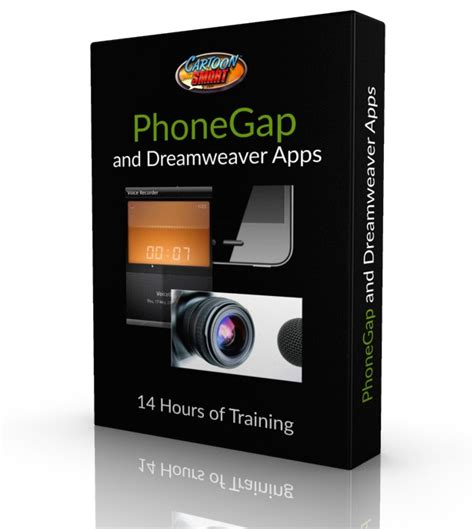 phonegap tutorial with dreamweaver phonegap and dreamweaver applications 14 hours of video