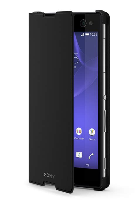 sony scr15 style cover stand for xperia c3 xperia