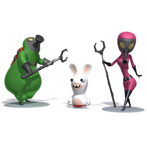 rabbids go home costumes images