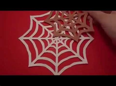 How To Make A Paper Web - spider web an easy craft for
