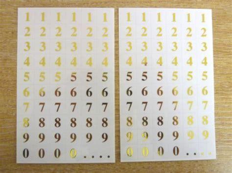Vinyl Aufkleber Zahlen by B 252 Robedarf Schreibwaren Etiketten Register Stempel