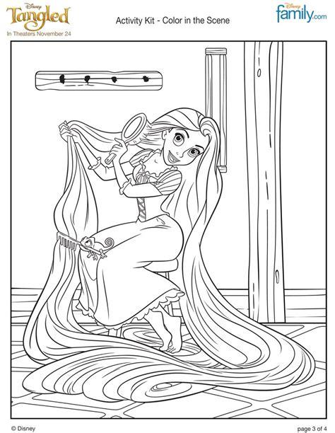 rapunzel hair coloring pages rapunzel s long hair coloring pages hellokids com