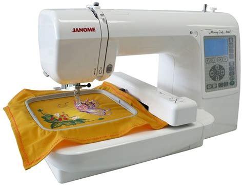 Home Decor Liquidation by Janome Memory Craft 200e Embroidery Machine