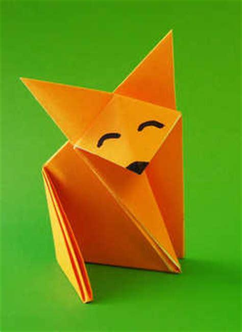 Easy Origami Fox - origami maniacs origami fox