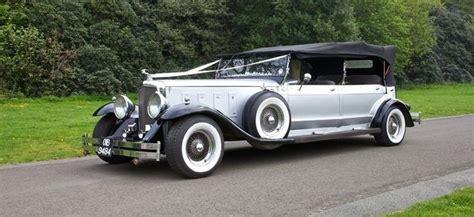 Wedding Car Lancaster by Dureau Convertible Wedding Car For Hire