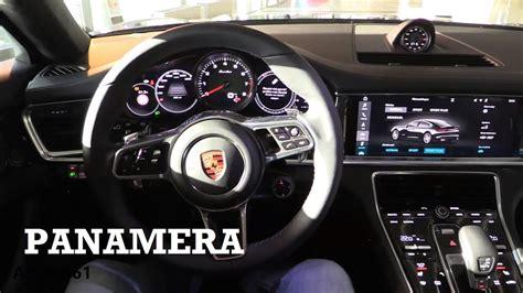 porsche panamera inside 2017 porsche panamera interior review