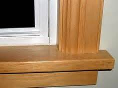 Buy Wooden Window Sill Window Trim Styles Clear Pine Jambs Casing Trim With