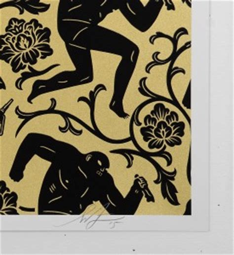 peterson pattern works obey cleon peterson pattern of corruption gold prints