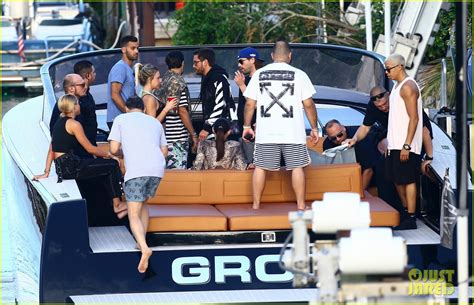 father s day boat ride nyc scott disick sofia richie flaunt major pda during boat
