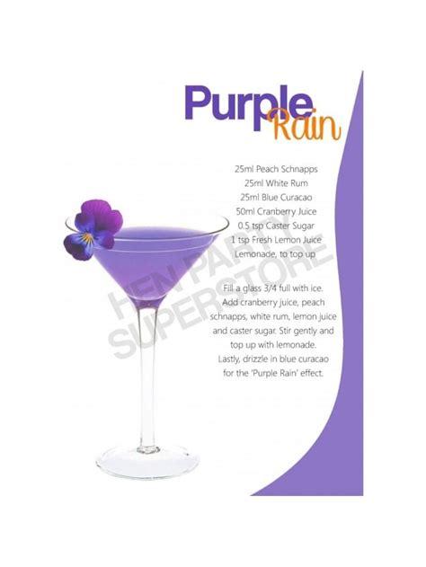 purple martini recipe purple cocktail recipe hen superstore
