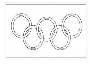 olympic rings coloring page coloring home