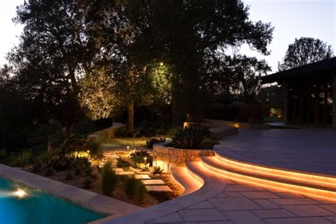 Outdoor Rope Lighting Ideas Outdoor Lighting Ideas For Your Back Garden Adorable Home