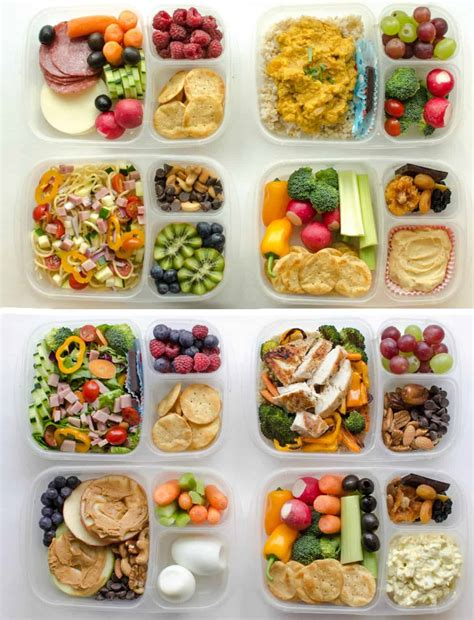 adult lunch box ideas healthy meal prep recipes