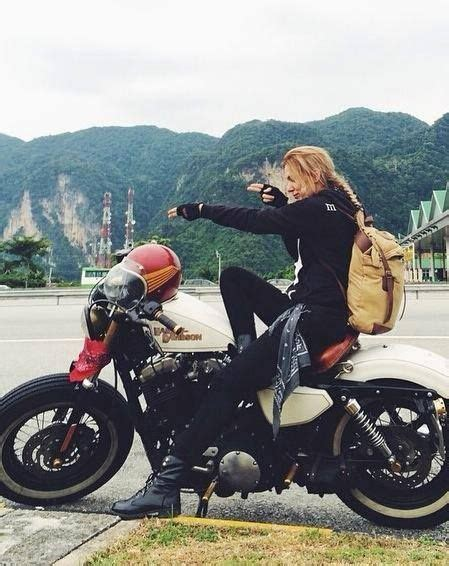 female motorcycle riding women riding motorcycles girls on bikes biker