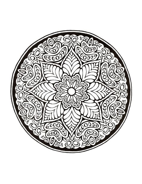 mandala coloring in book mystical mandala coloring book coloring pages for