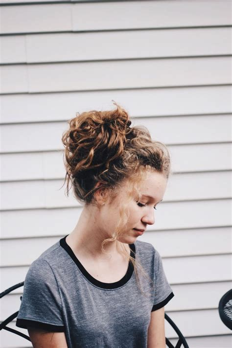 haircut short story characters best 25 messy curly bun ideas on pinterest curly bun