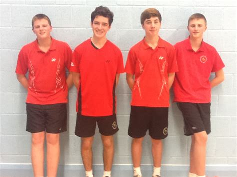 Mba Boy by Mba U16 Boys And Badminton Teams Qualify For County