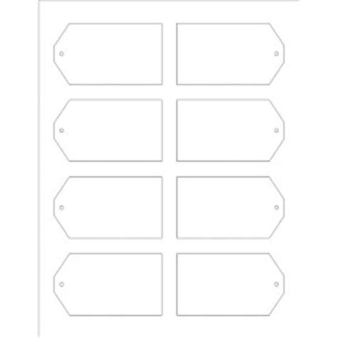 avery tags template templates printable tags with strings 8 per sheet