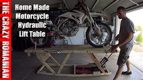 harbor freight work table harbor freight wood replica hydraulic motorcycle lift work