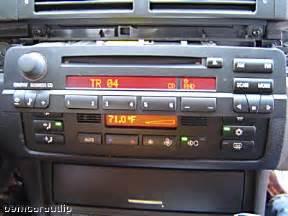02 03 04 05 06 bmw 3 series e46 325i 330i m3 radio stereo
